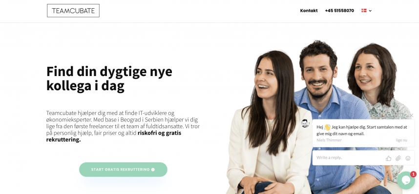 Teamcubate rekrutterer medarbejder i Serbien som outsourcing for danske virksomheder.